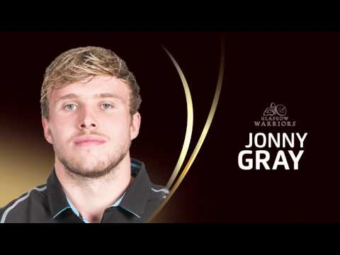 Jonny Gray (Glasgow Warriors) - EPCR European Player of the Year 2017 Nominee