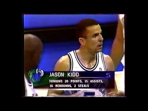 L.A Clippers @ Dallas - Jason Kidd triple double 21/16/16 - 1996