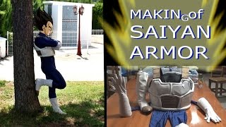 the best homemade vegeta trunks saiyan armor time lapse