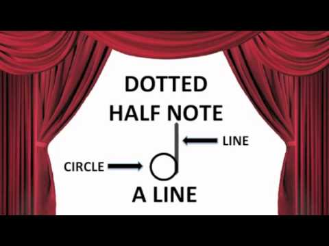 Dotted Half Note