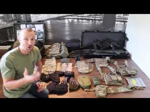 Basic loadout for a Airsoft Milsim Event - Milsim Kit list - What you need for milsim !