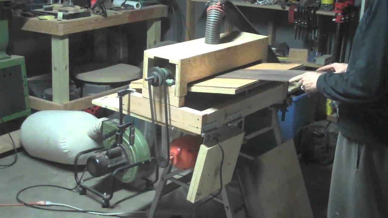 plain diy wood thickness planer 9