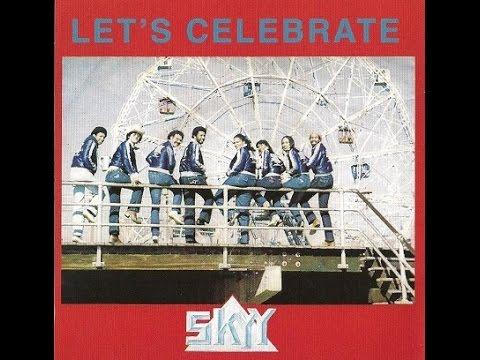"""SKYY. """"Lets Celebrate"""". 1981. 12"""" Remix."""