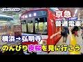 【京急】横浜から弘明寺へのんびり普通電車で桜を観に行こう   Visit Yokohama Japa…