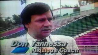 WNEP TV HS Football Preview - Berwick Bulldogs vs. Aliquippa Quips 1988