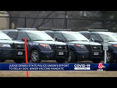 Union Says 'Dozens' of State Troopers Have Resigned Over Coming Mass. Vaccine Mandate