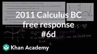 2011 Calculus BC Free Response #6d