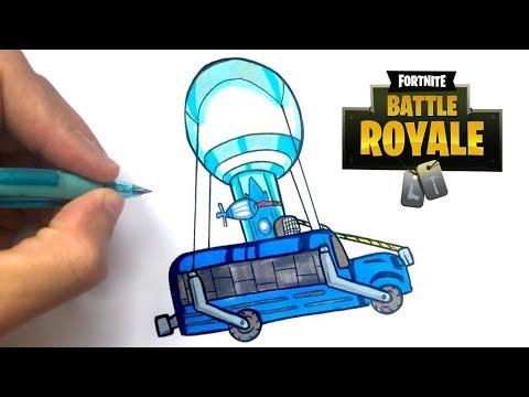 Tuto Dessin Mini Bus Fortnite Youtube