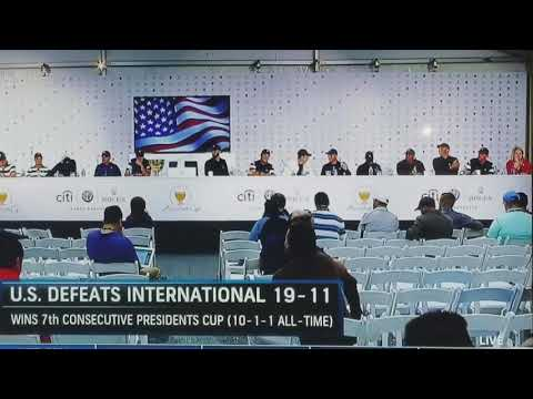 2017 presidents cup jordan spieth drunk