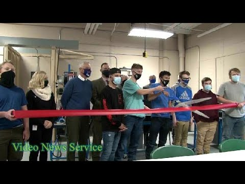 BATAVIA/Electro-Mechanical Trades cuts the ribbon on a new lab space at Genesee Valley BOCES