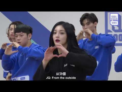 [ENG] 180131 Idol Producer EP3 Preview: Zhou Jieqiong Teaches B Class