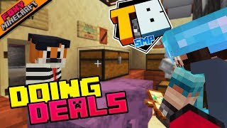 DOING DEALS | Truly Bedrock [1-29] | Minecraft Bedrock Edition SMP (MCBE) with slacklizard