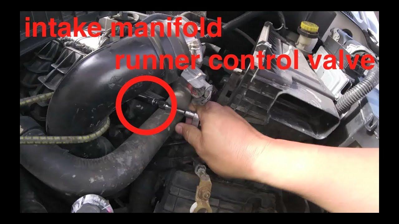 P2017 stuck OPEn [intake runner control valve] Replacement Dodge Caliber√  fix it angel