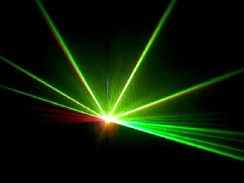 Đèn laser 2 màu quét tia thông dụng cho bar, vũ trường - Đèn sân khấu