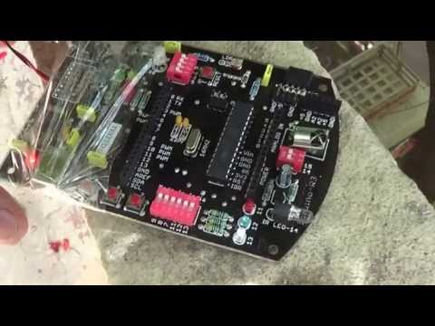 Induino R3 - Low Cost Indian Arduino Clone - Stress Test - Terrace Throw