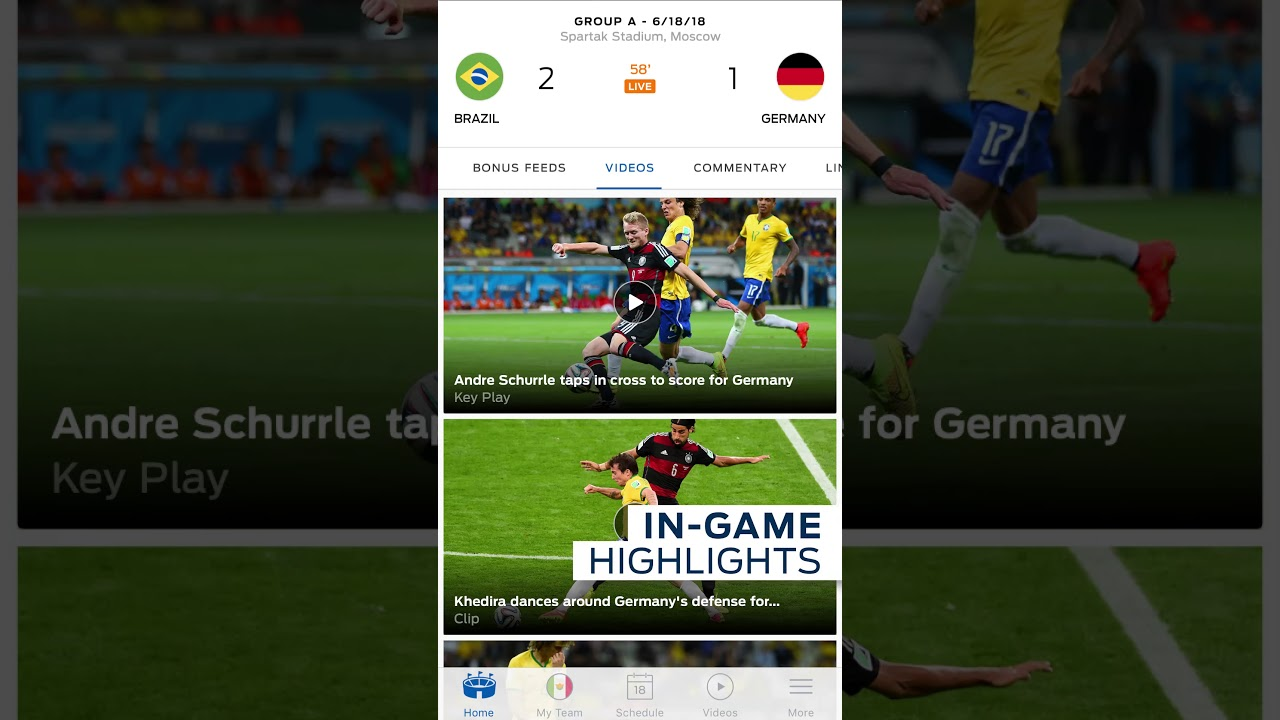 Sofascore Live Games Today Best World Cup Apps 2018 For Android What Are Your Options