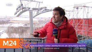 Ветер до 18 метров в секунду ожидается в столице 22 февраля - Москва 24