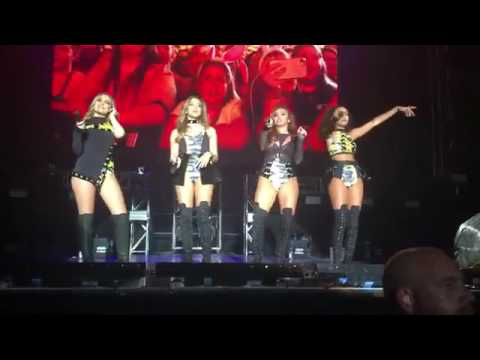 Little Mix sing 'Boy' in Glory Days Tour Adelaide, Australia 26.07.17