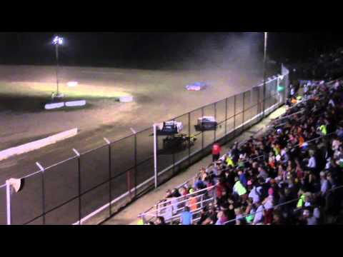 Muskingum County Speedway Street Stock Feature 7-25-15