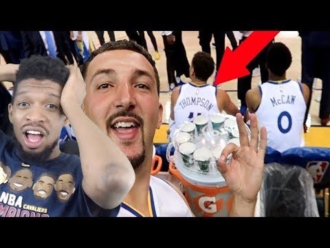 LMFAO GOT INTO PLAYER PARKING! PRETENDING TO BE KLAY THOMPSON REACTION!