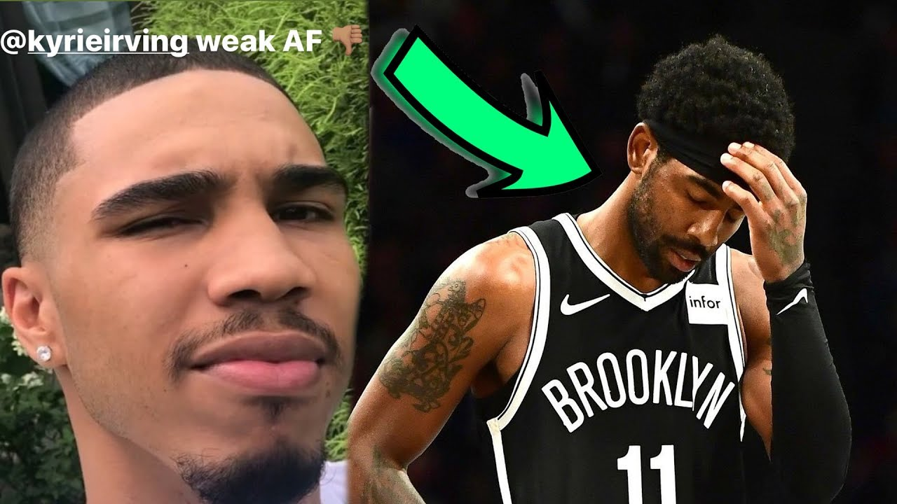 Boston Celtics Players REACT to Kyrie Irving Instagram Post - YouTube