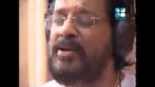 Dr. K. J. Yesudas Performing Christian Devotional Song Andhatha Neekkunna from Album Divyanjali