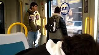 Metro Porto sentido aeroporto