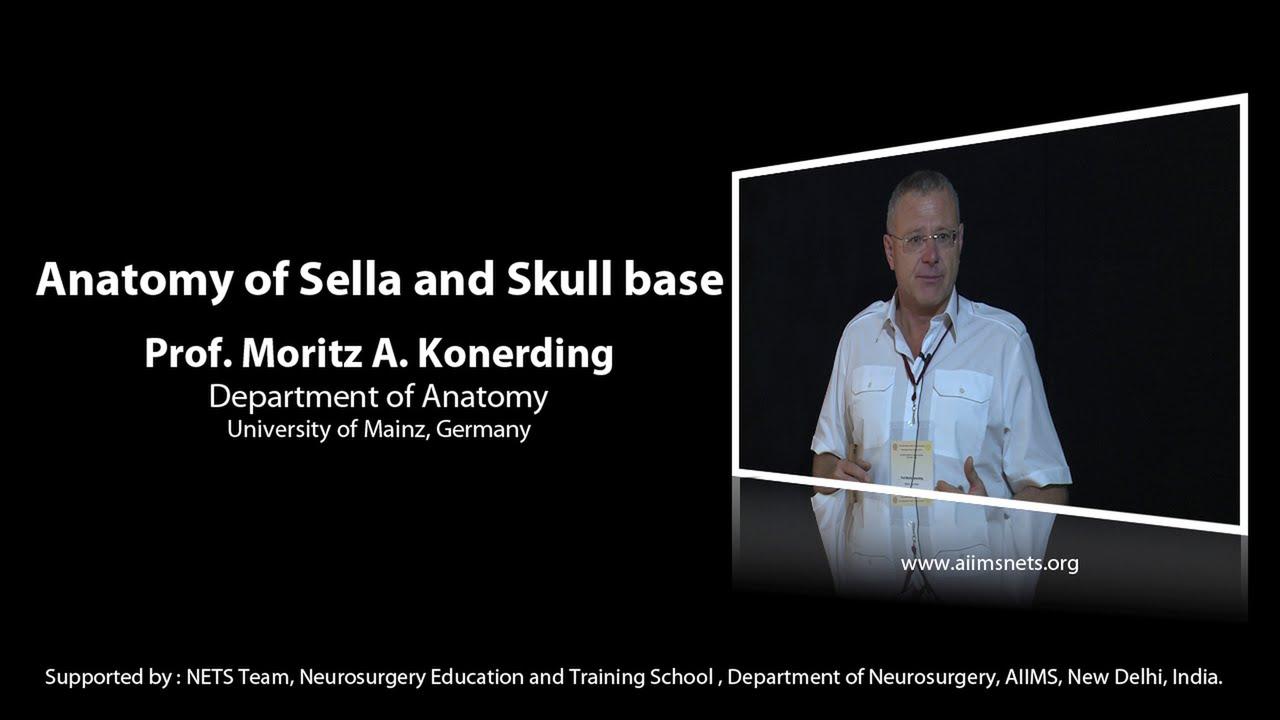 Anatomy Of Sella And Skull Base By Dr Moritz Konerding Youtube
