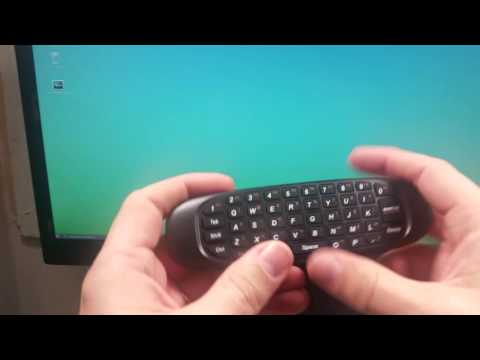 Wireless Air Mouse Remote Control with Keyboard