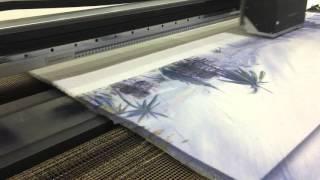 direk halı baskı makinesi - carpet printing