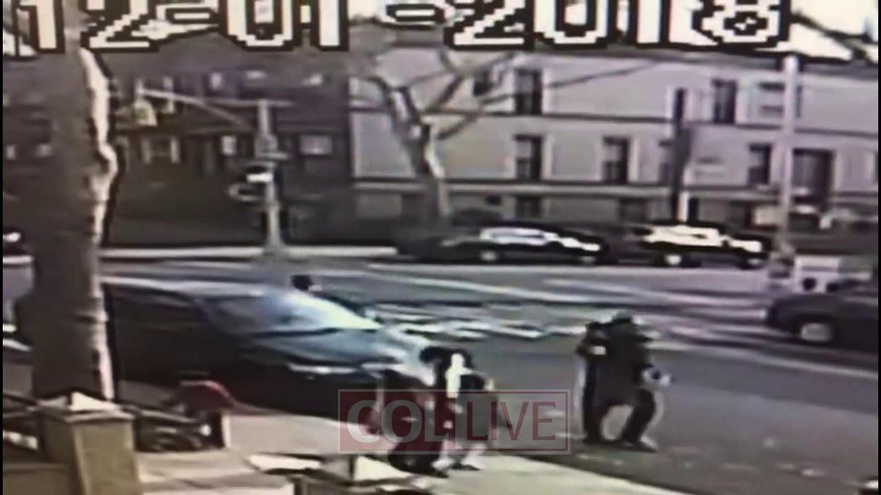זו כבר תופעה: אישה שחורה הכתה יהודים שצעדו אל בית הכנסת