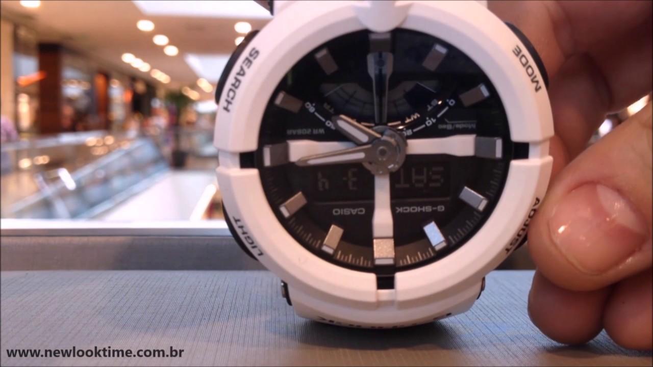 b2df7d2a46d Coleção G-SHOCK GA-500 - New Look Time Relógios - YouTube