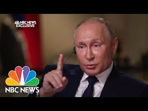 Exclusive: Full Interview With Russian President Vladimir Pu