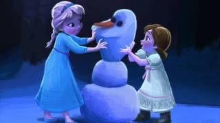 [Frozen] Do you want to build a snowman? Flute duet
