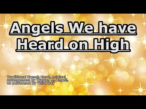 Angels We Have Heard On High Guitar Chords - Third Day - Khmer Chords