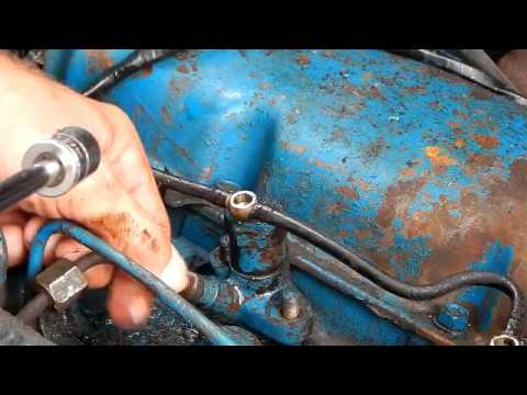 Ford 2000 Tractor  Engine Prep Before Starting Part 1
