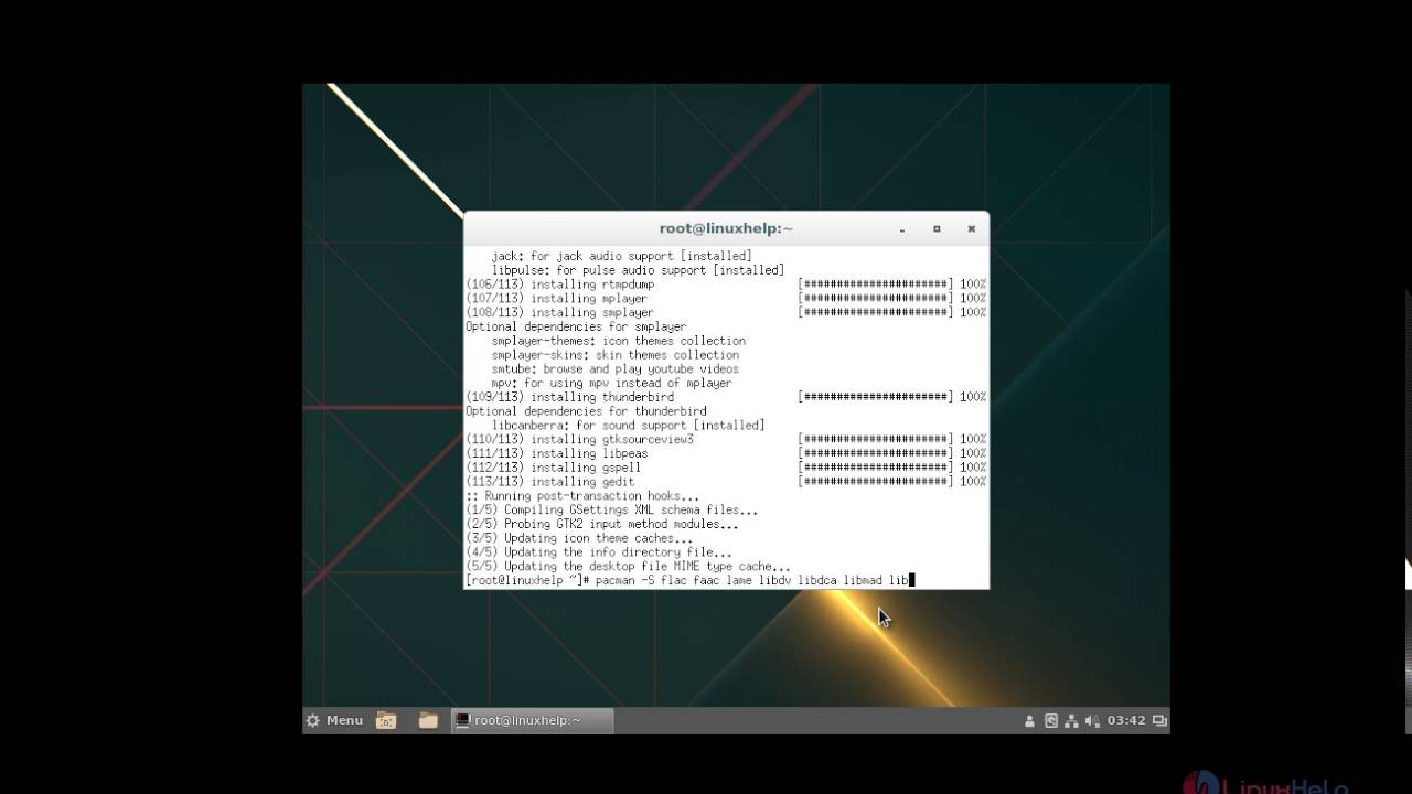 How to Install Cinnamon Desktop ( GUI ) in Arch Linux