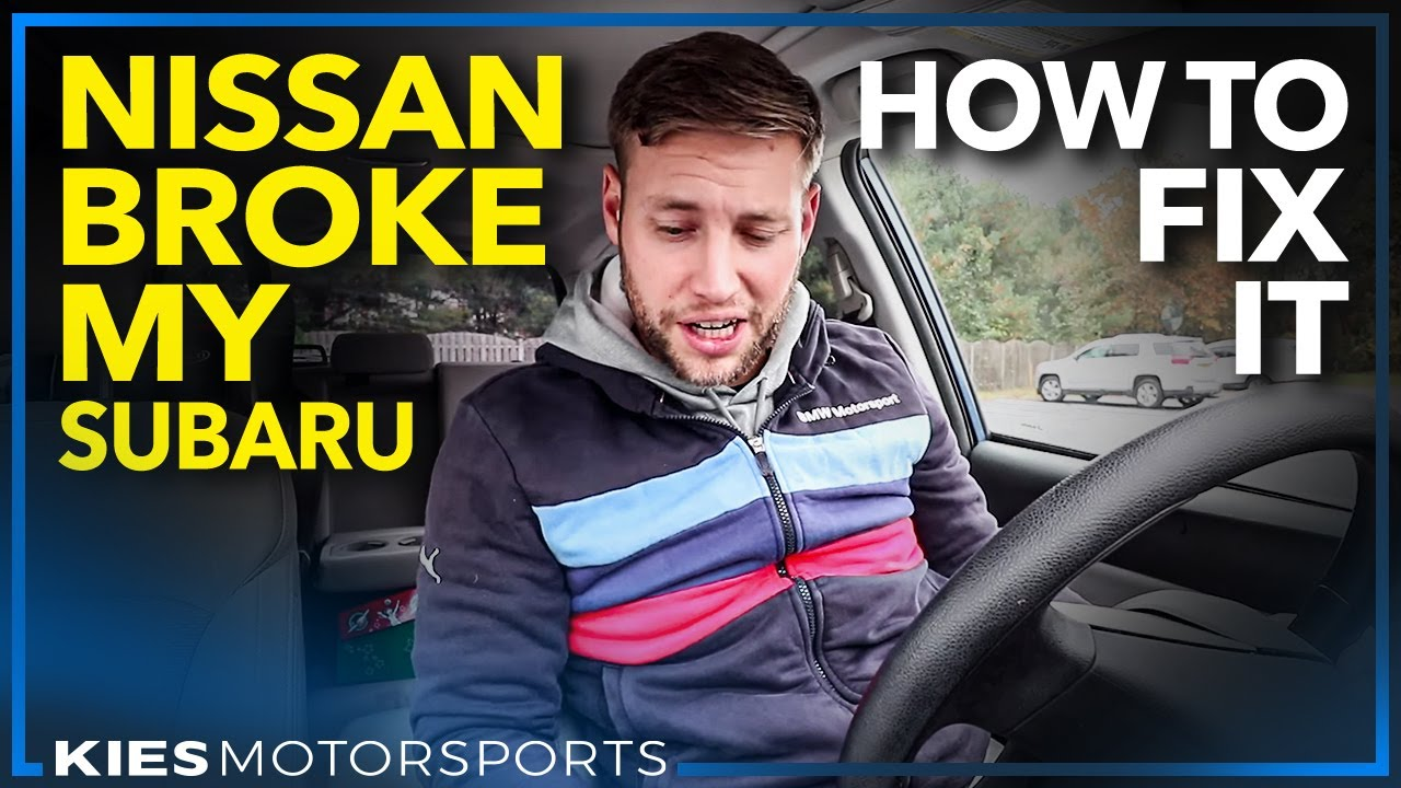 Nissan Broke My Subaru And How To Fix It Replace A Faulty Forester Abs Wiring Diagram Stop Switch In Your