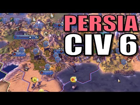 Civ 6 Persia | War for Arabia! | Let's Play Civilization 6 Gameplay [Cyrus Strategy]
