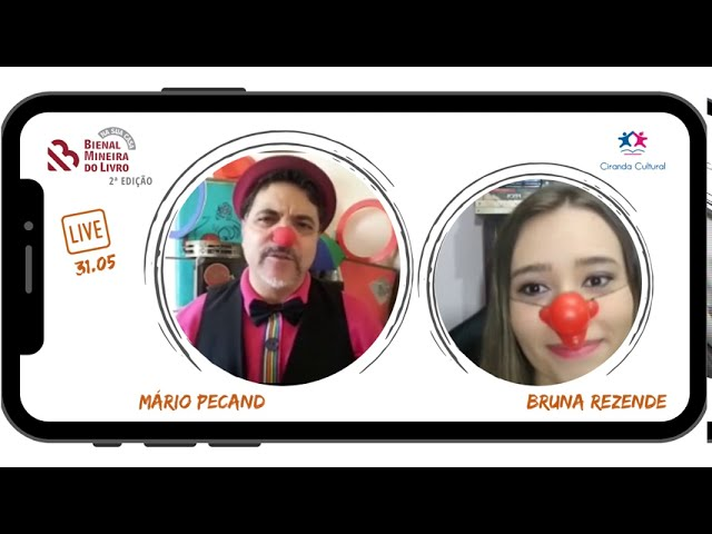 SELEÇÃO LIVES - 2ª edição Bienal na Sua Casa - Mário Pecand e Bruna Rezende