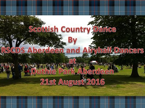2016 Duthie Park - Scottish Country Dancing