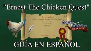 [OSRS] Ernest The Chicken Quest (Español)