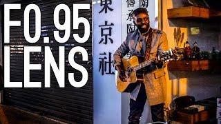 Korean Street Music in Low Light—Voigtländer 25mm f/0.95
