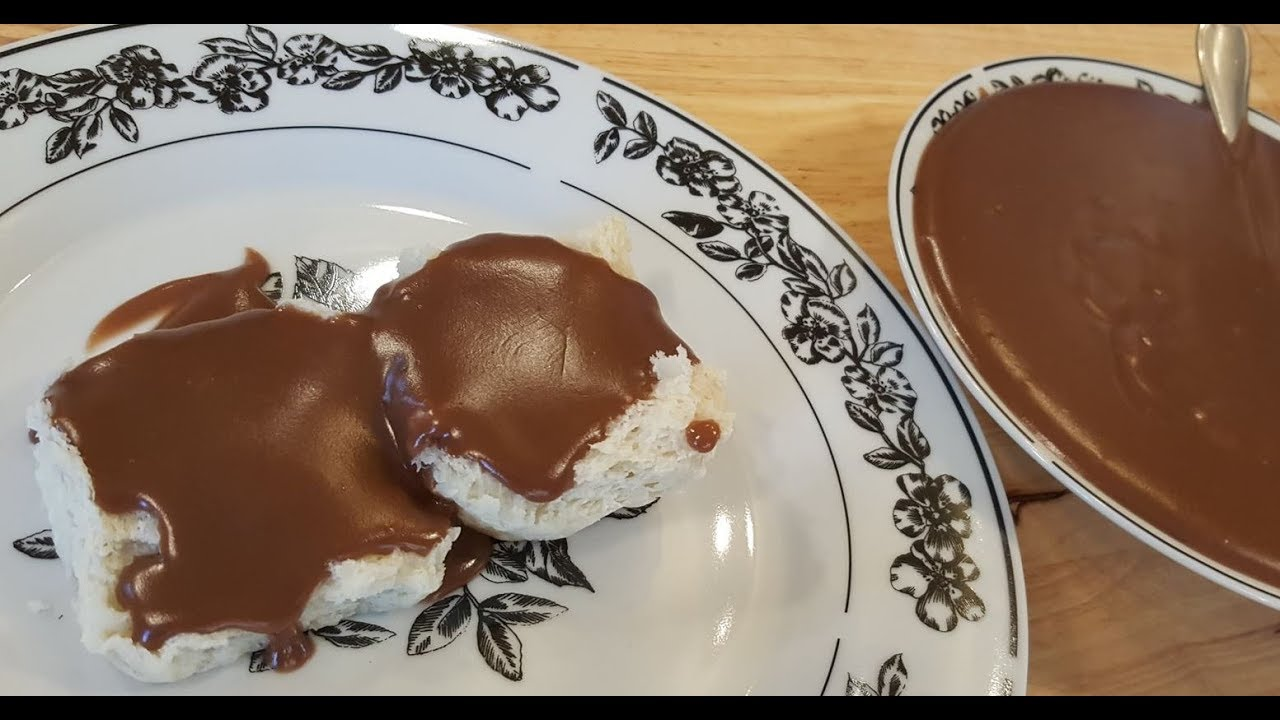 Chocolate Gravy 100 Year Old Recipe The Hillbilly Kitchen