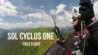 SOL Cyclus One - first flight