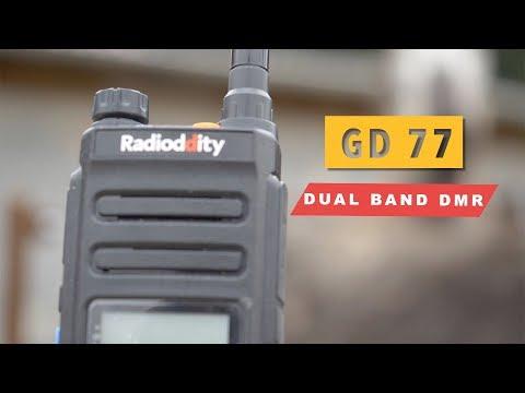 ✅ Radioddity GD 77 DMR, HAM RADIO, Amateurfunk