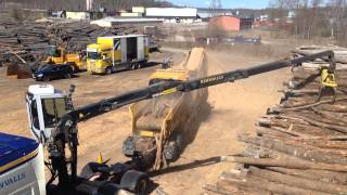 Vermeer HG6000 Chipdrum demo-visning Mid-Sverige - April 2015