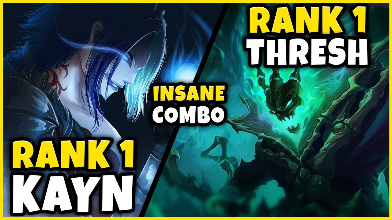Download RANK 1 KAYN + RANK 1 THRESH = INSANE OUTPLAYS (IN CHALLENGER) - League of Legends