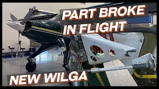 Engine Trouble Flying Home a New Wilga 😬 | Scrappy 30