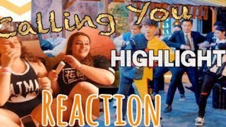 "HIGHLIGHT ""Calling You"" MV REACTION"